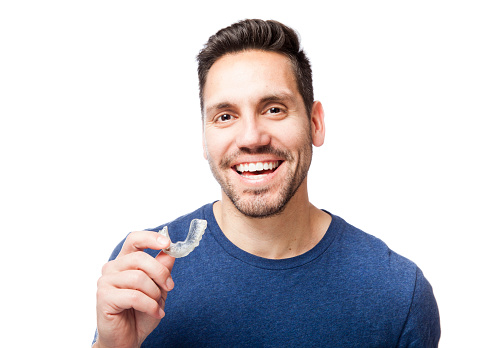 If you find that you grind your teeth, mouthguards will help reduce the symptoms of Bruxism.